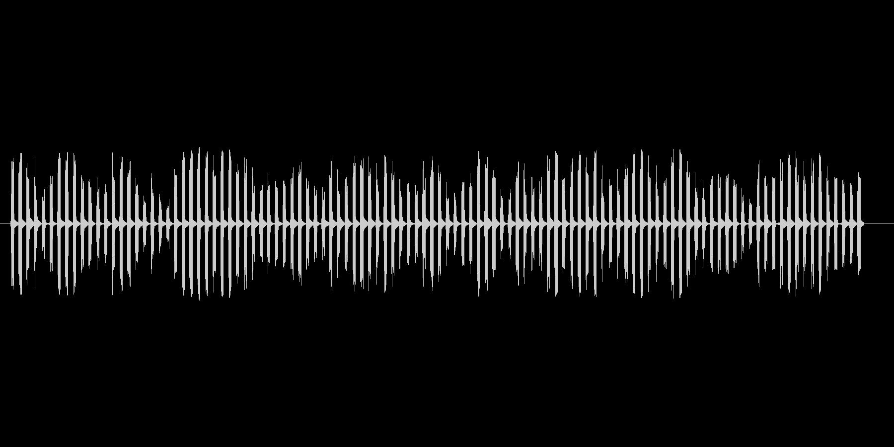 宇宙人が喋っているような電子音ですピロの未再生の波形