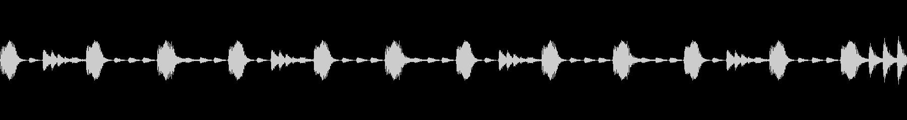 Electro リズムパターンの未再生の波形