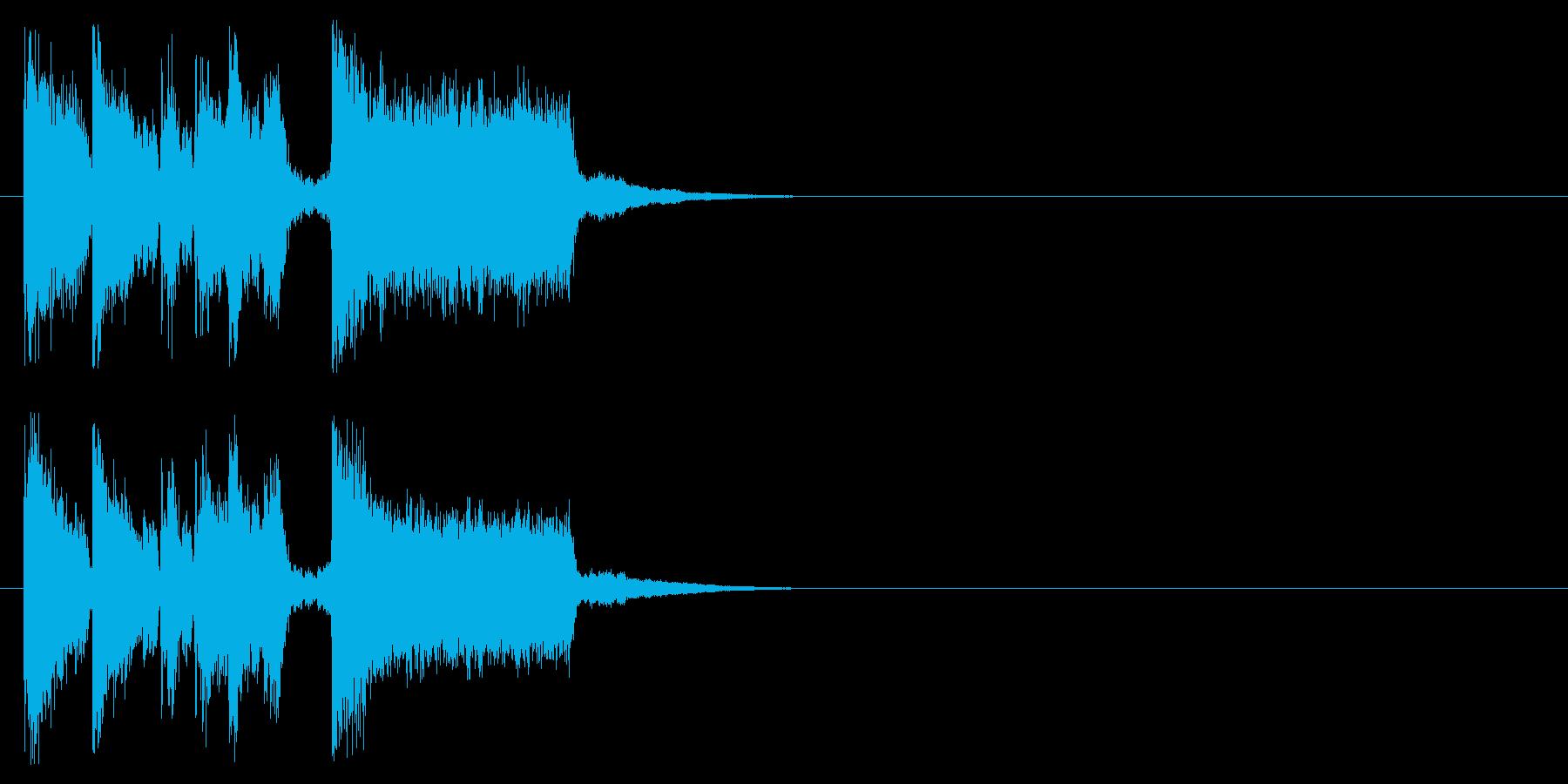 ニュース 報道 情報 店内 アタックの再生済みの波形
