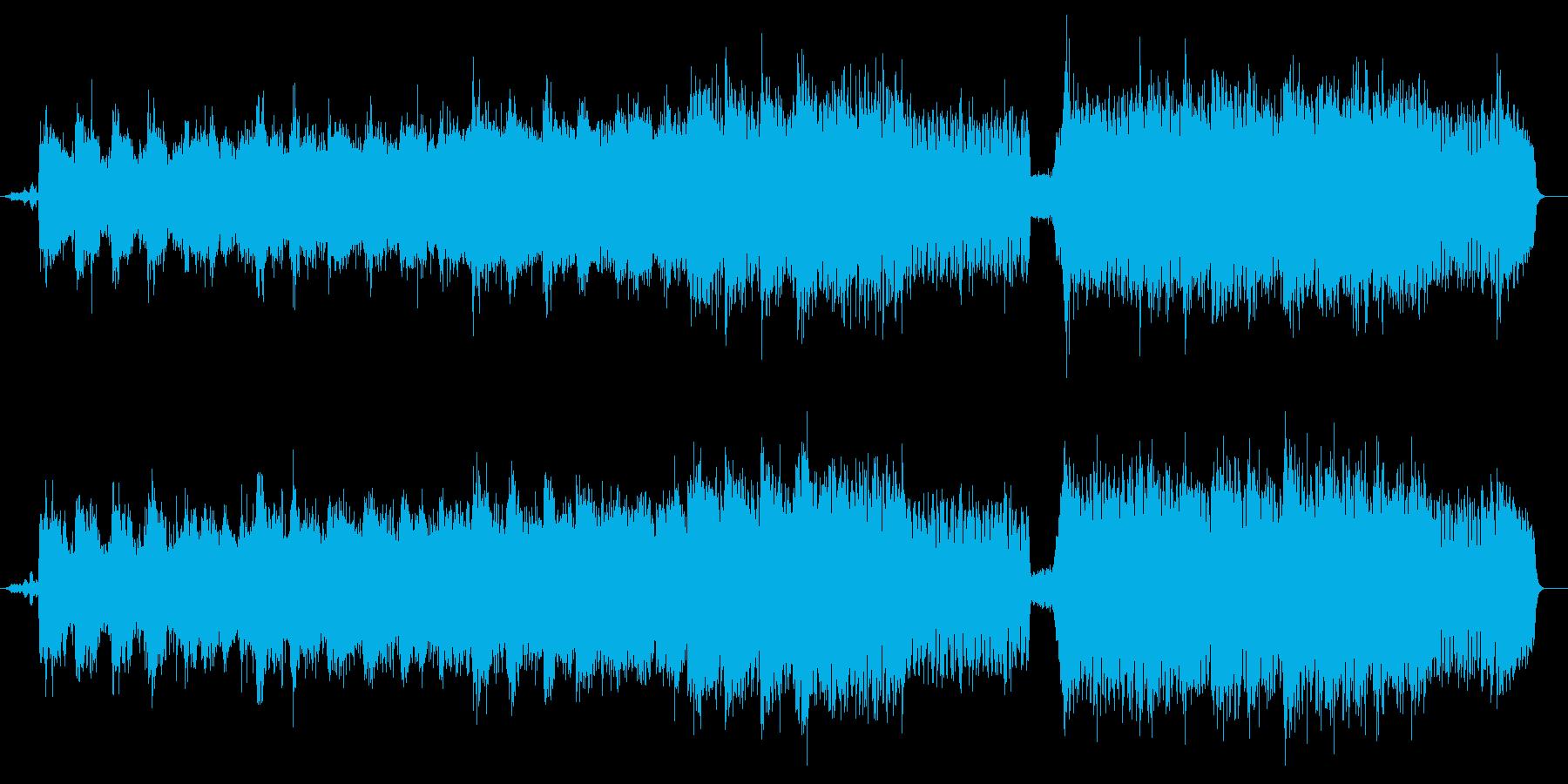 熱砂(ヒート・アイランド)の再生済みの波形