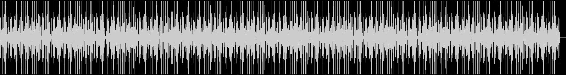 ボイパ ドラムループの未再生の波形
