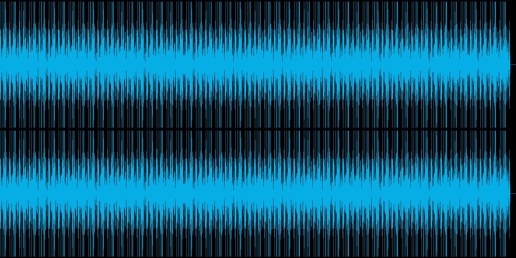 ボイパ ドラムループの再生済みの波形