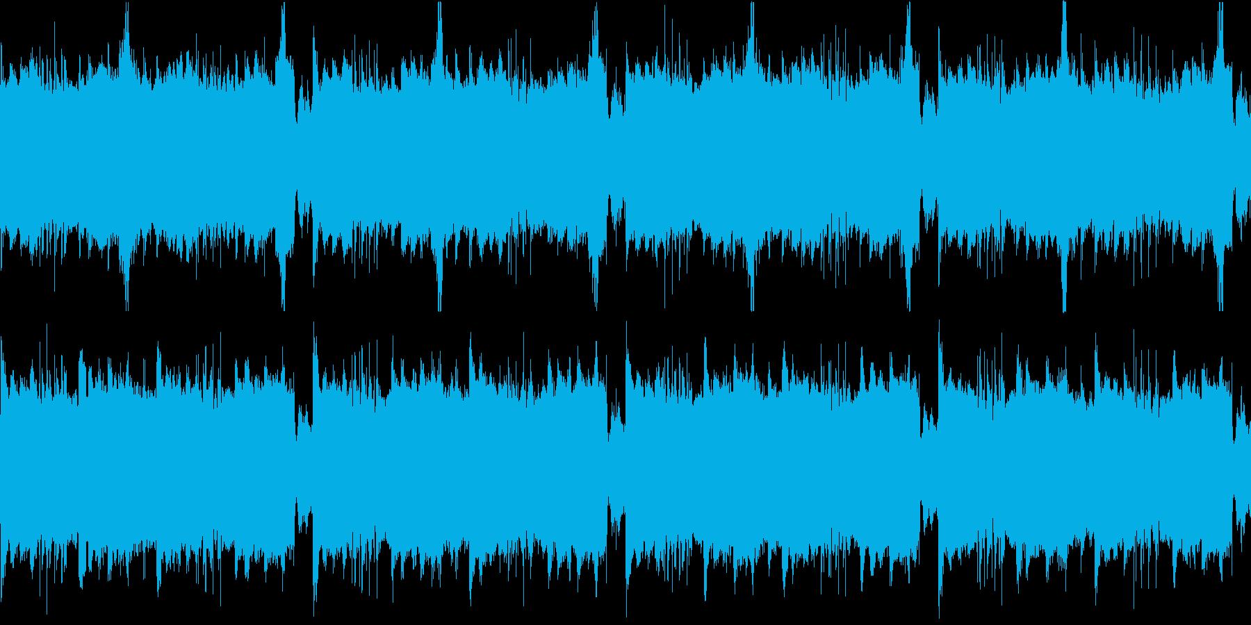 和風系のアンビエントホラーです。の再生済みの波形