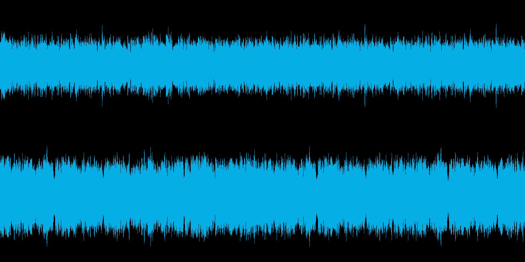 ミステリアスなチルアウトループの再生済みの波形
