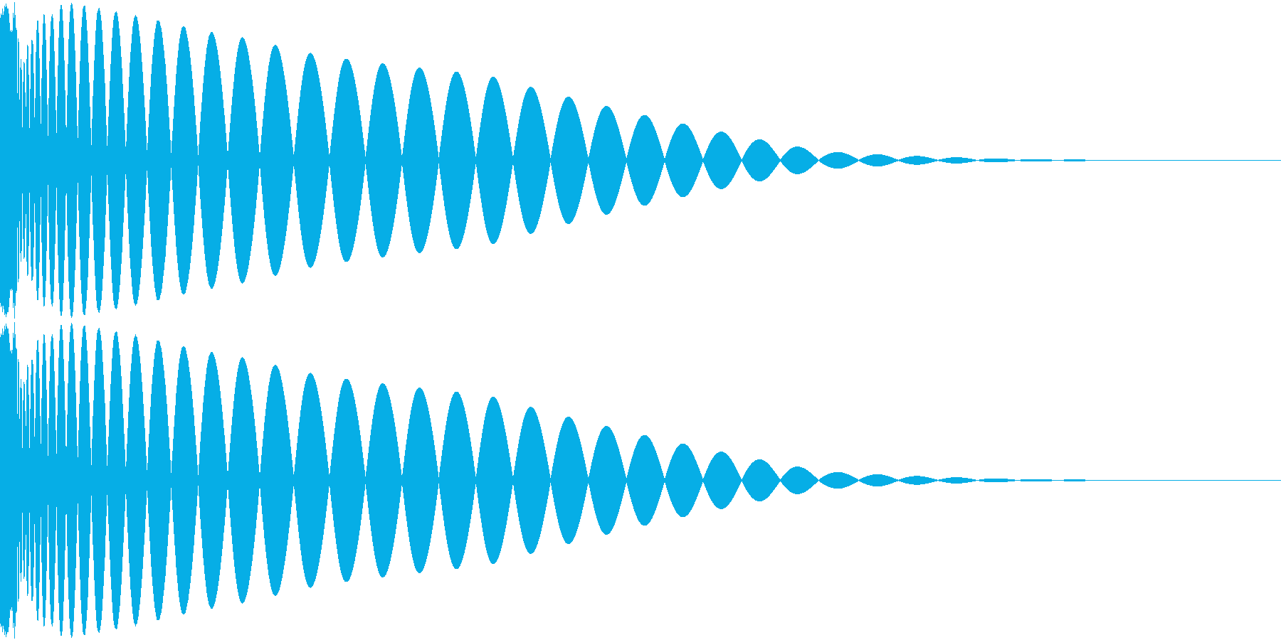 DTM Kick 26 オリジナル音源の再生済みの波形