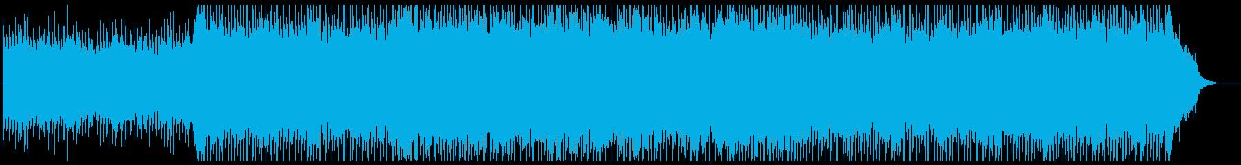 ポップで清々しいコーポレート向けBGMの再生済みの波形