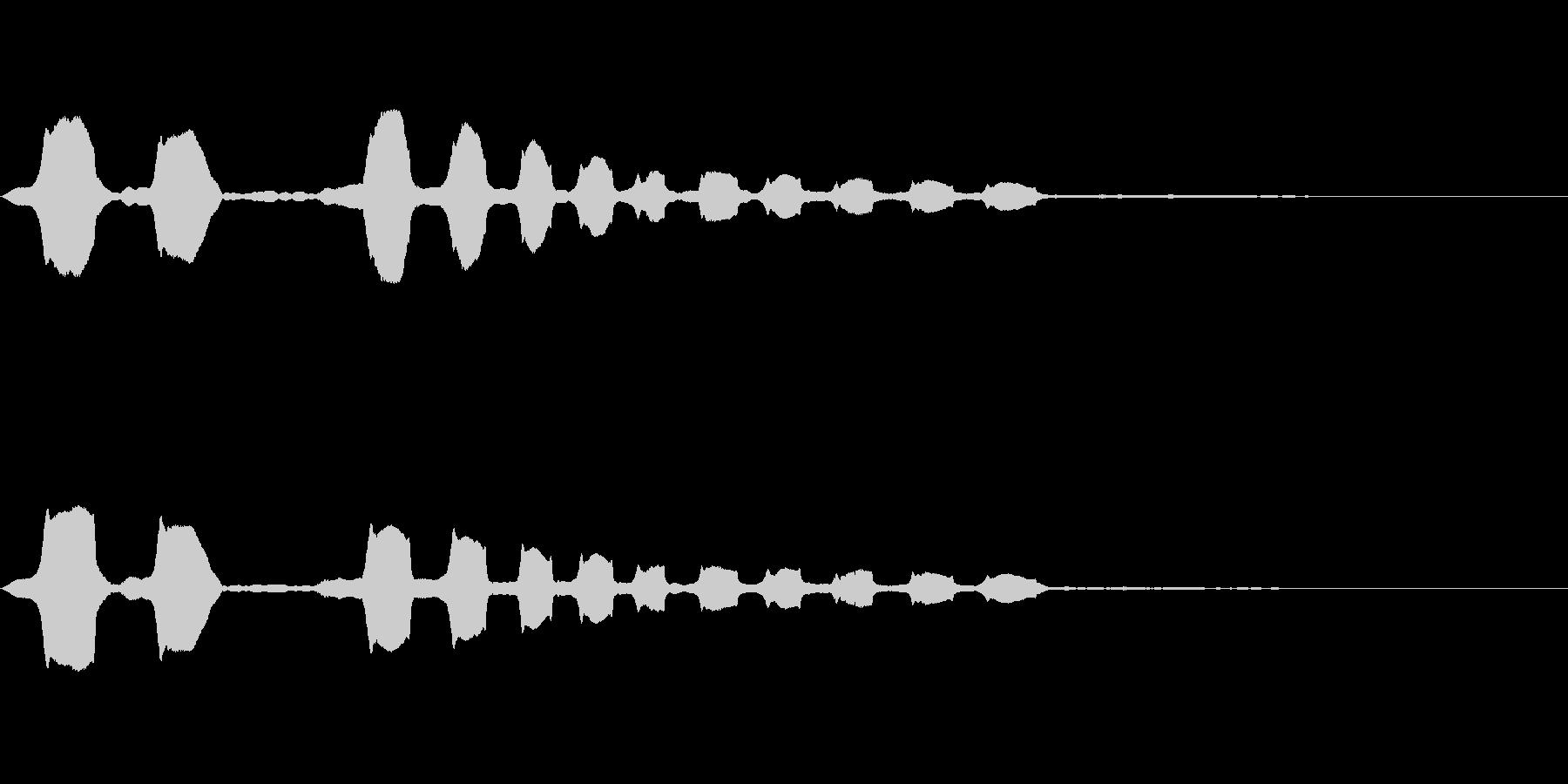 コメディタッチ (ホワンホワンホワン)の未再生の波形