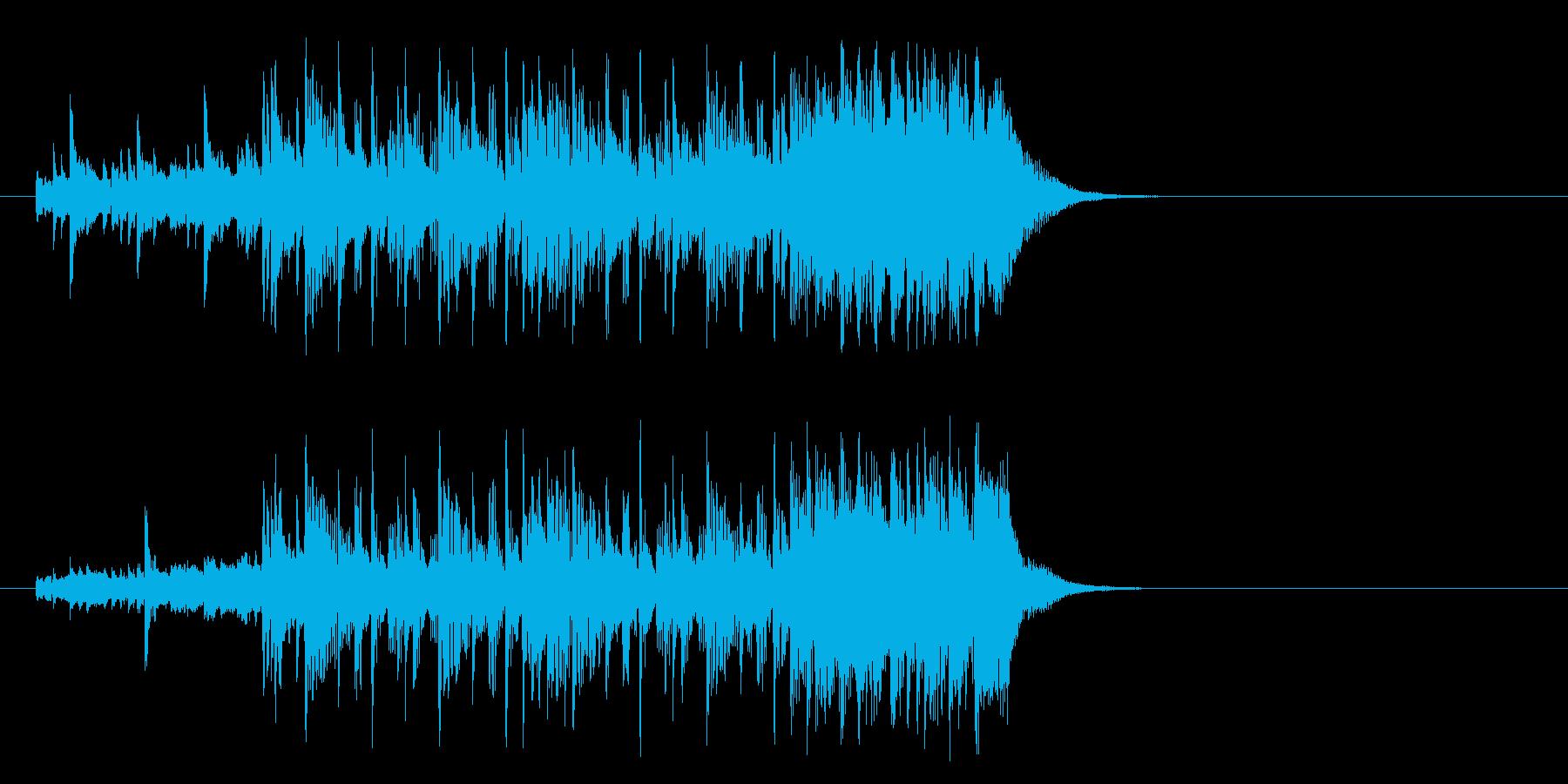 好奇心旺盛なポップ(イントロ)の再生済みの波形