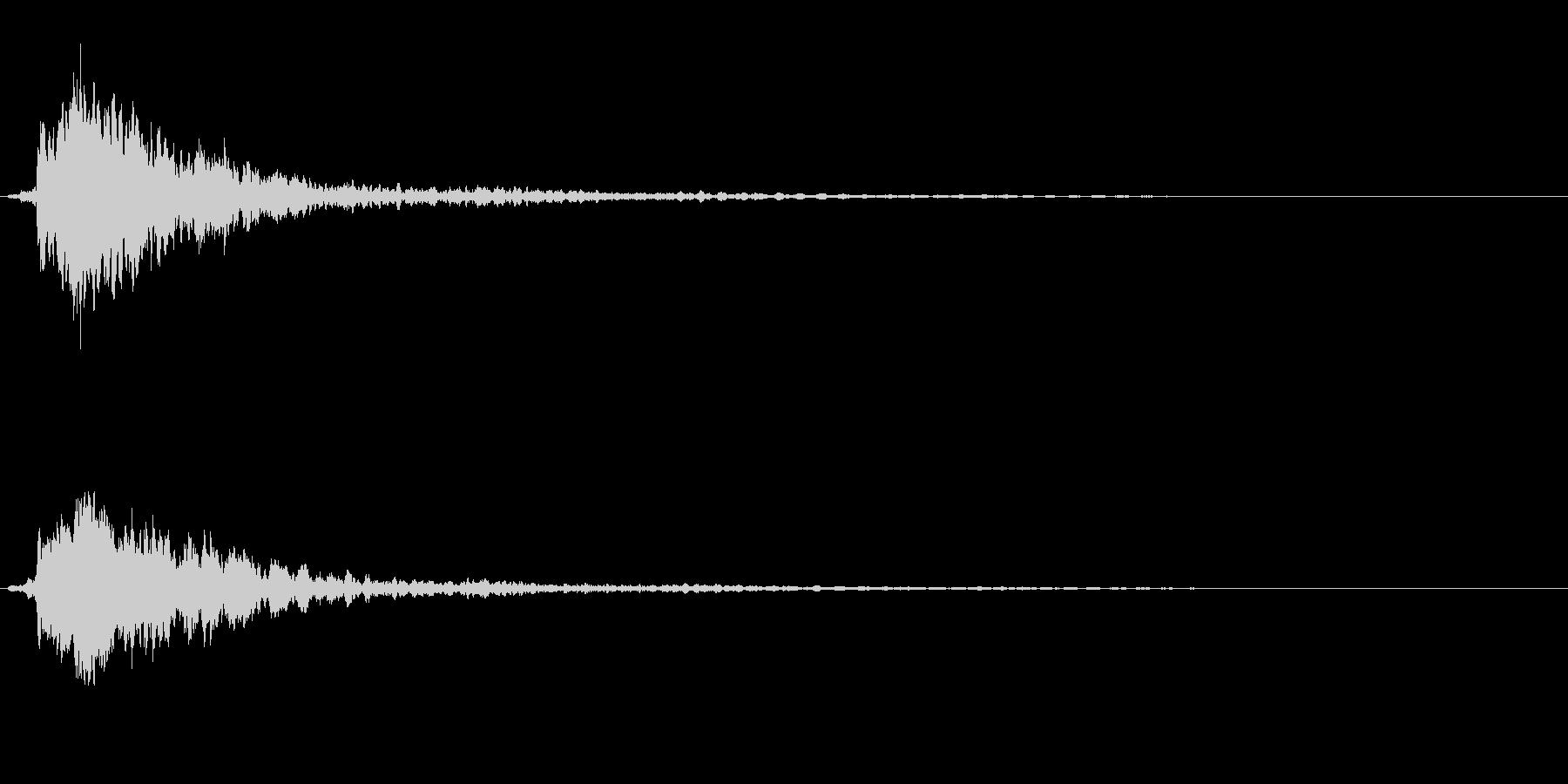 サスペンスに最適!ピアノの弦を弄ぶ音21の未再生の波形