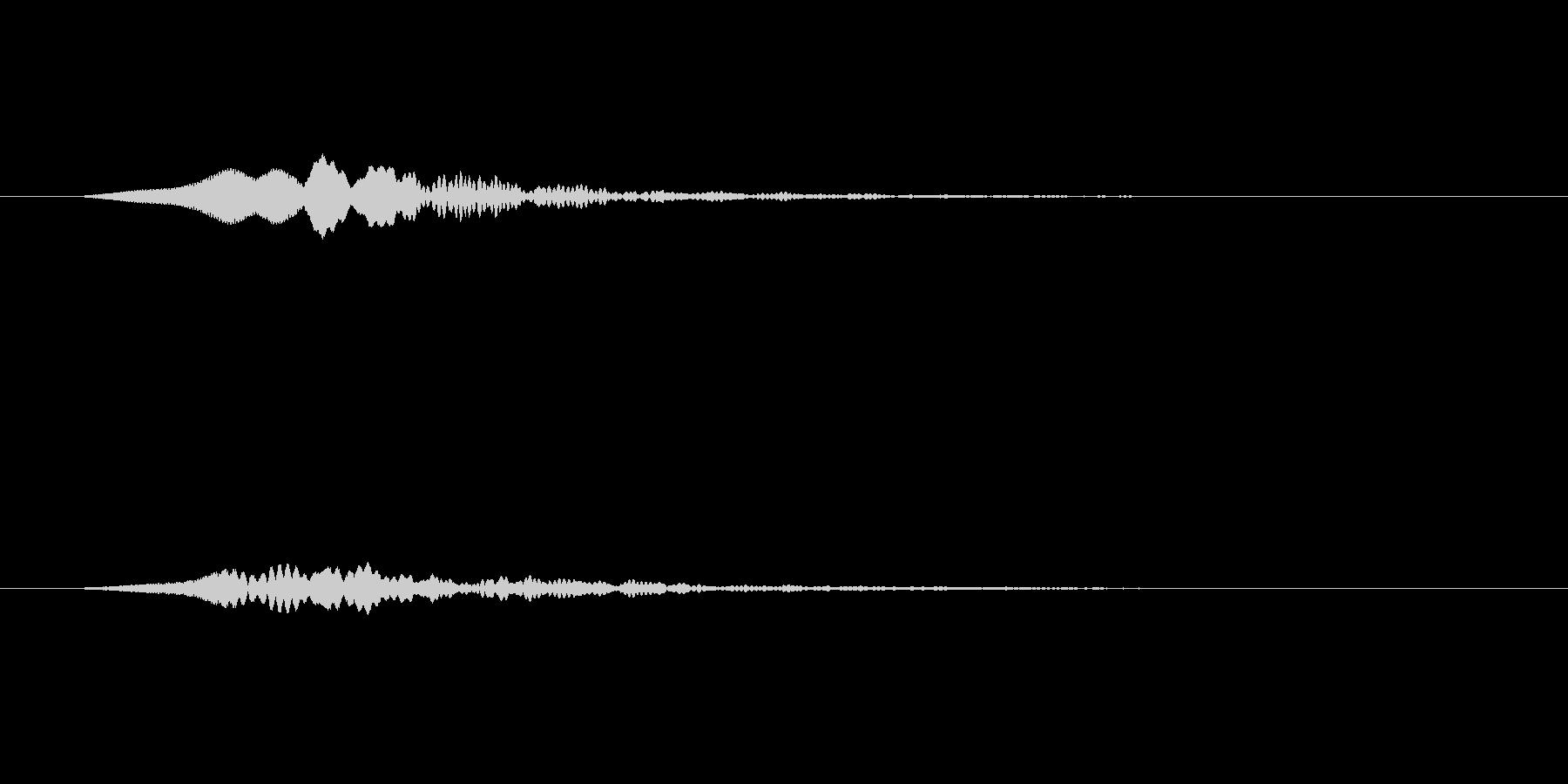 【SE 効果音】効果音その18の未再生の波形