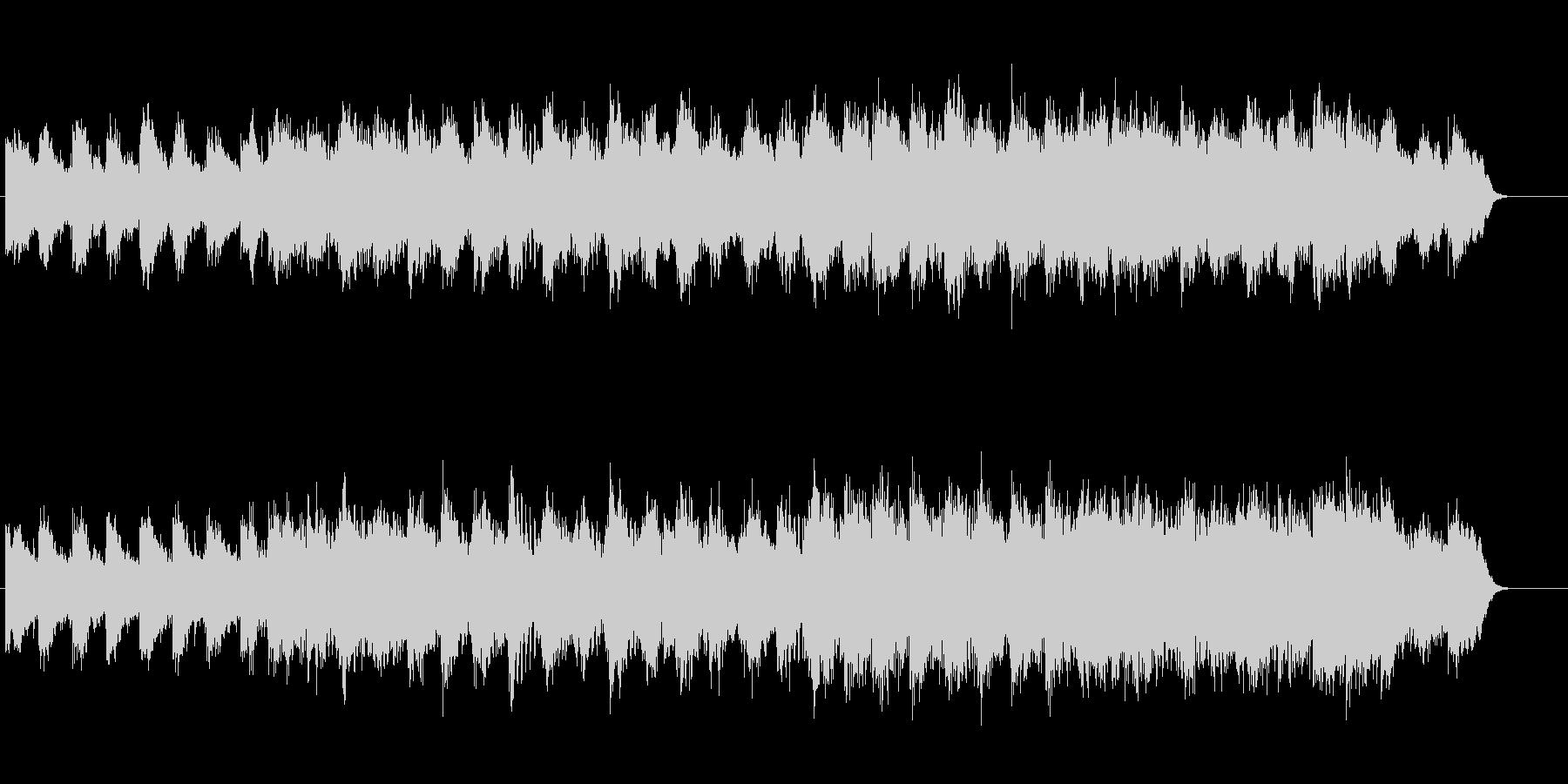 安らぎのアンビ系サウンドの未再生の波形