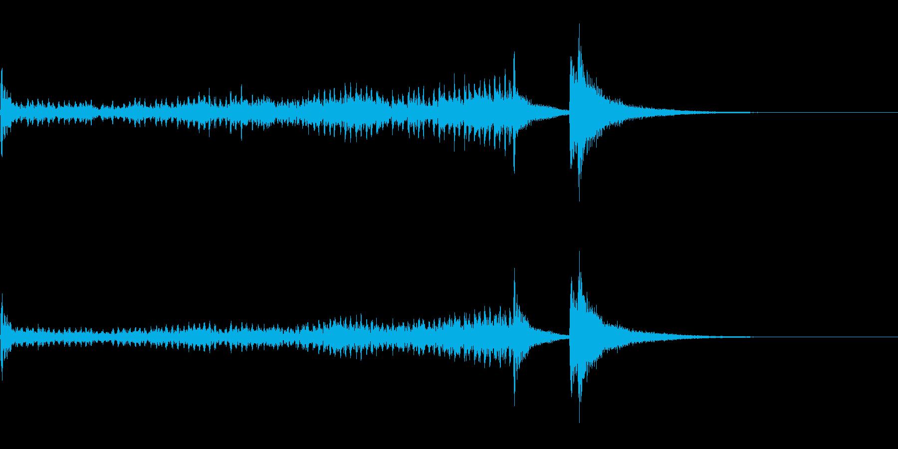 ティンパニーロール長+シンバル☆ドドン3の再生済みの波形