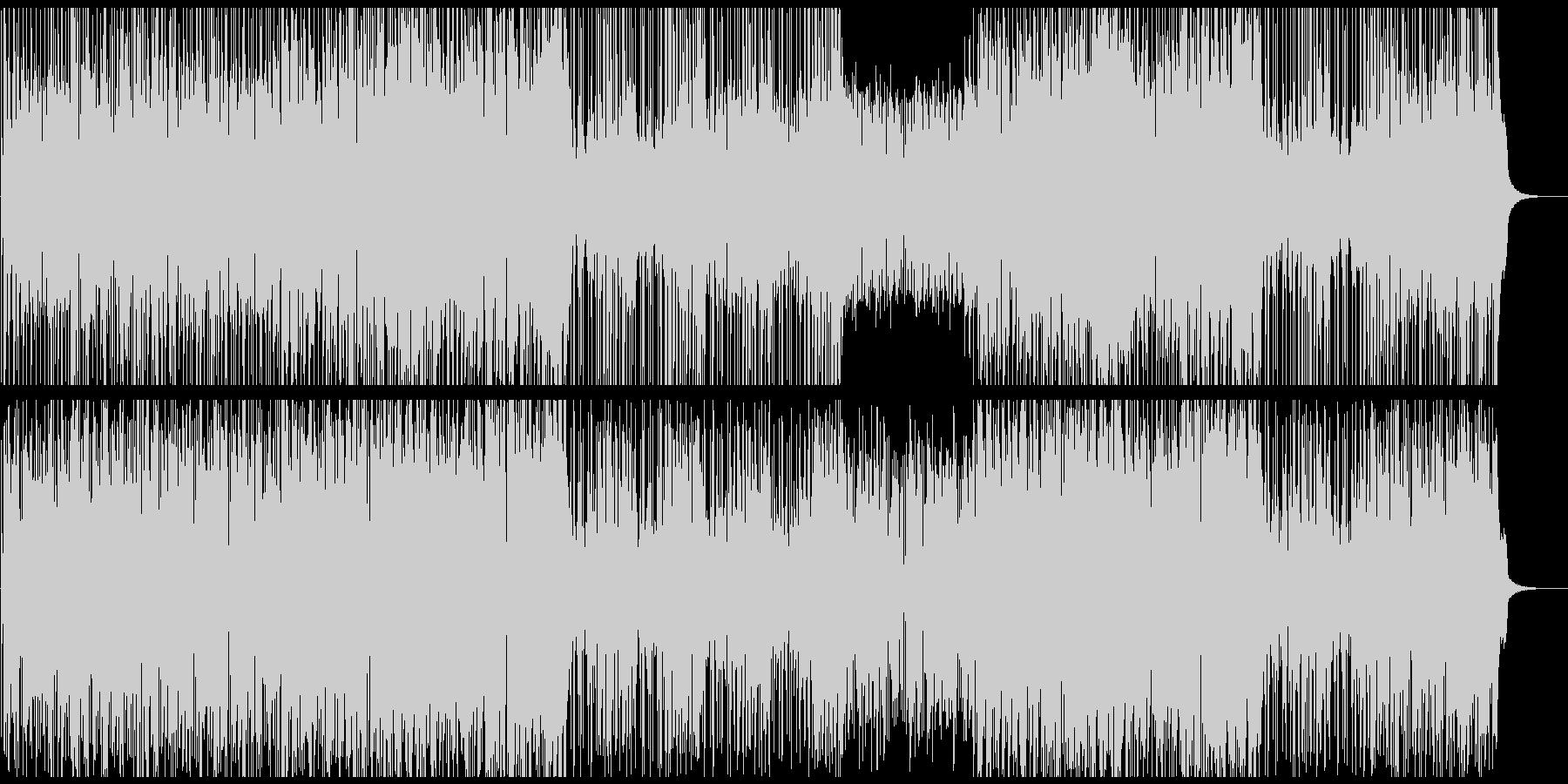 オープニング映像に レッチリ風ベースの未再生の波形