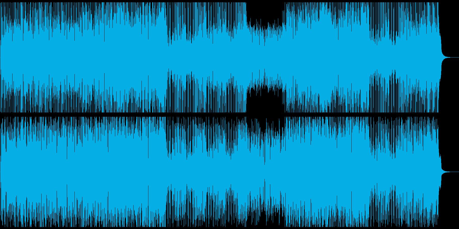 オープニング映像に レッチリ風ベースの再生済みの波形