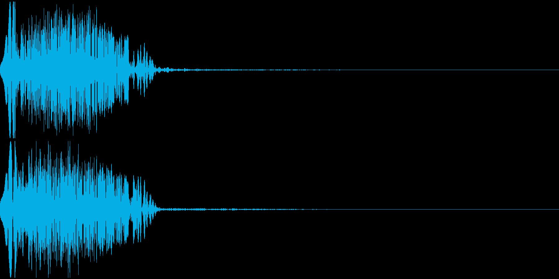 ドカーン(Hit_ダメージ)の再生済みの波形