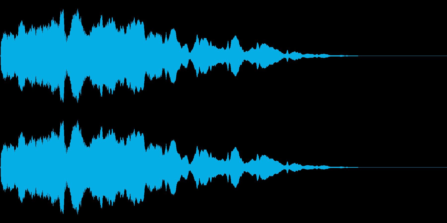 スライド笛/落下/下手っぴ/カートゥーンの再生済みの波形