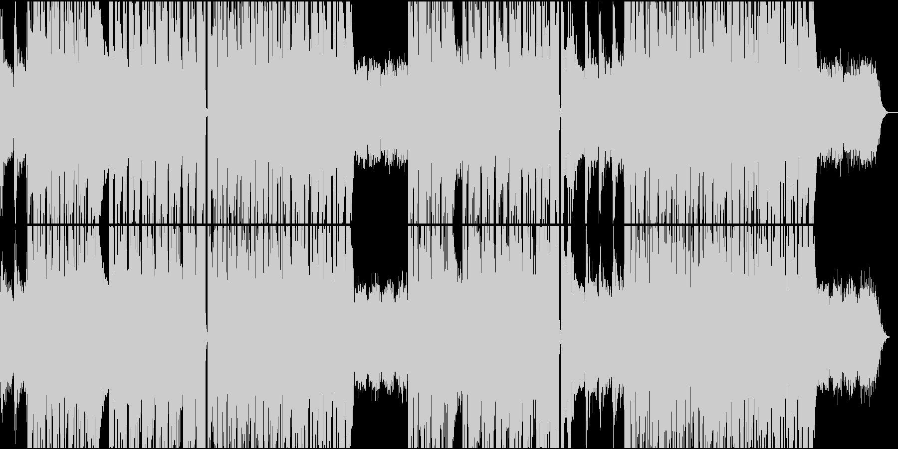 アコギと打ち込みドラムが心地よいR&Bの未再生の波形