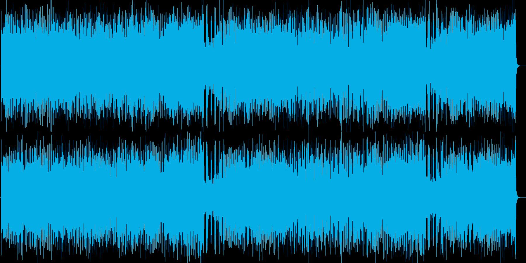わくわくする爽快なPOPミュージックの再生済みの波形