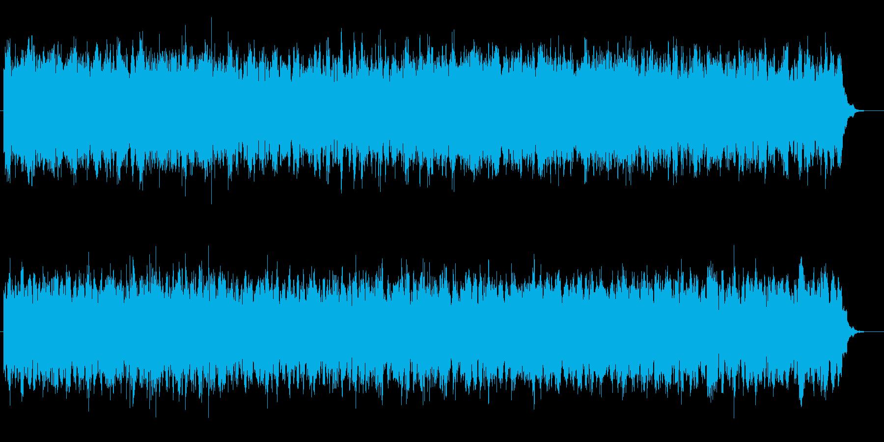 未来感のあるピアノシンセの再生済みの波形