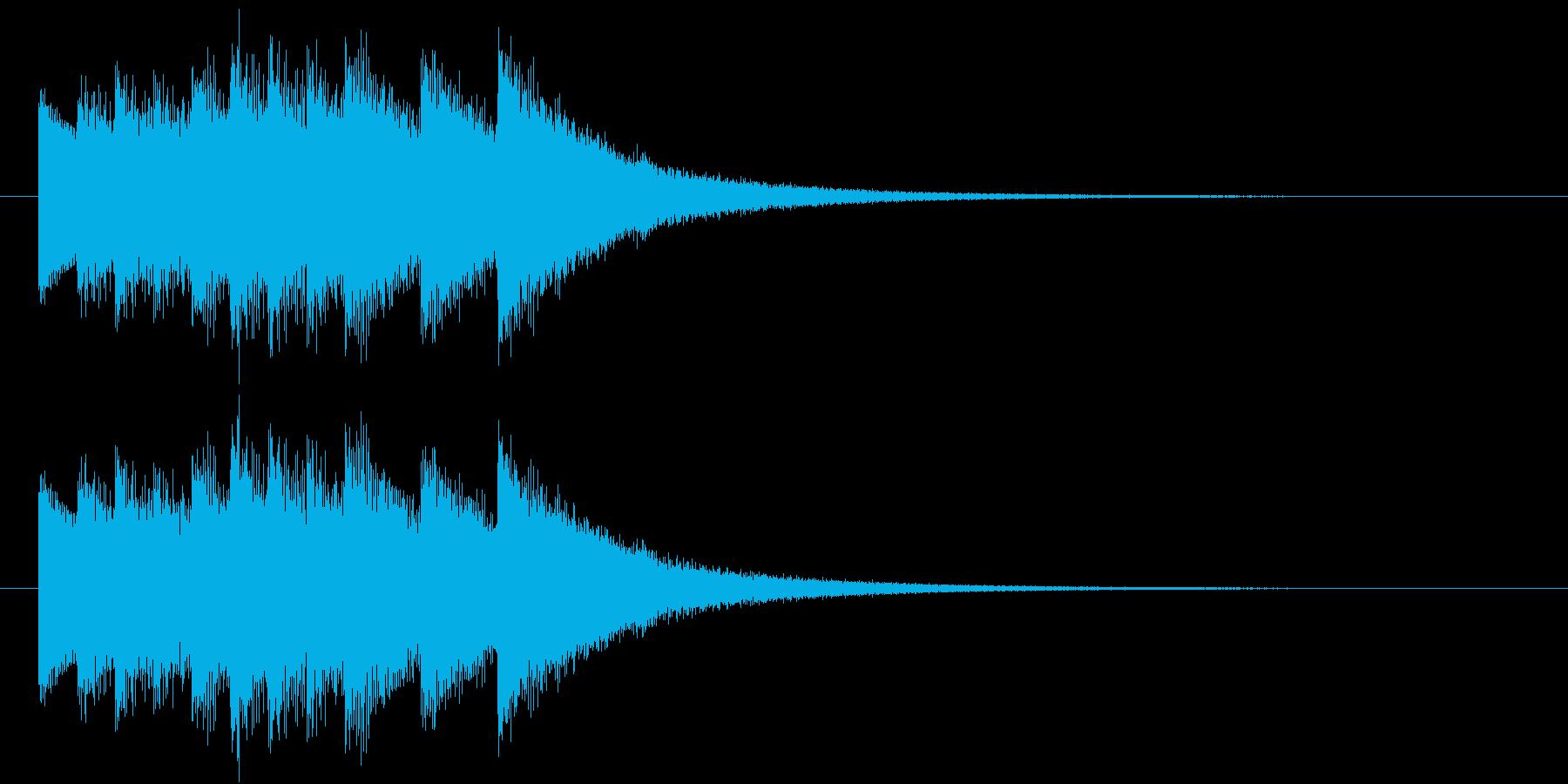 鐘(合格ドシラソドシラソドミレ)の再生済みの波形