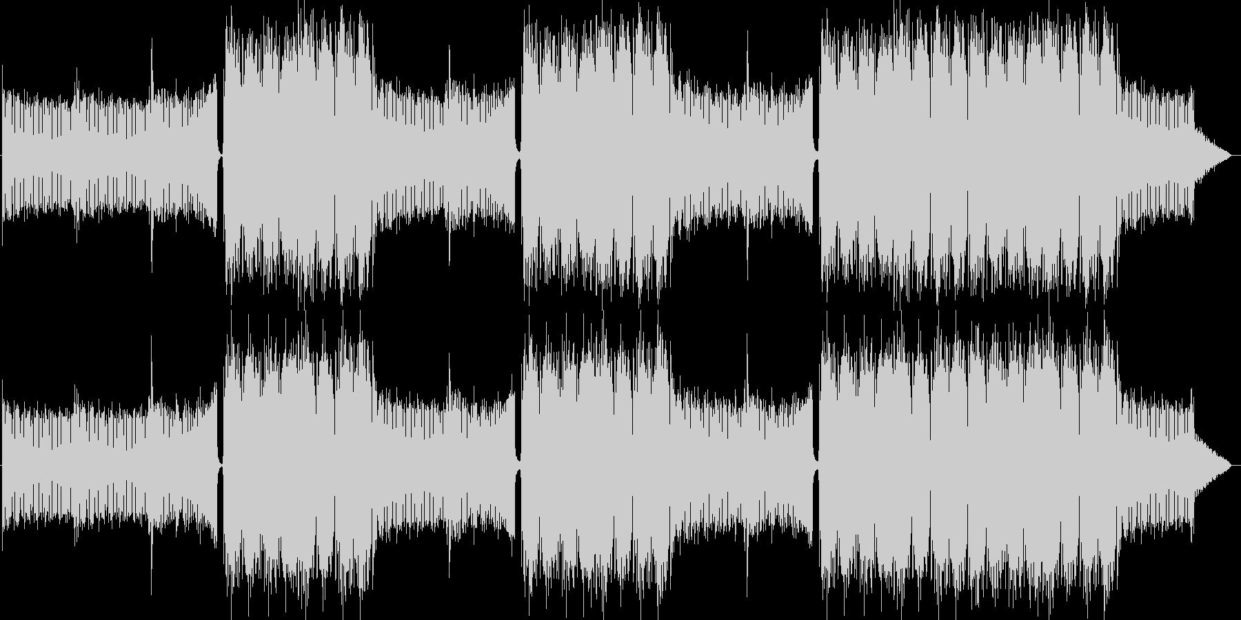 EDMクラブ系ダンスミュージック-10の未再生の波形
