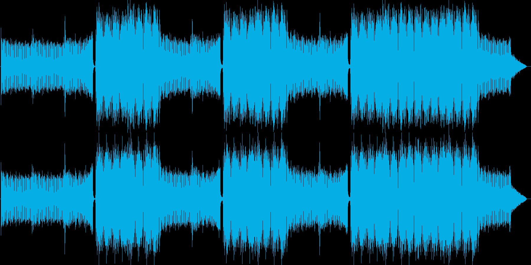 EDMクラブ系ダンスミュージック-10の再生済みの波形