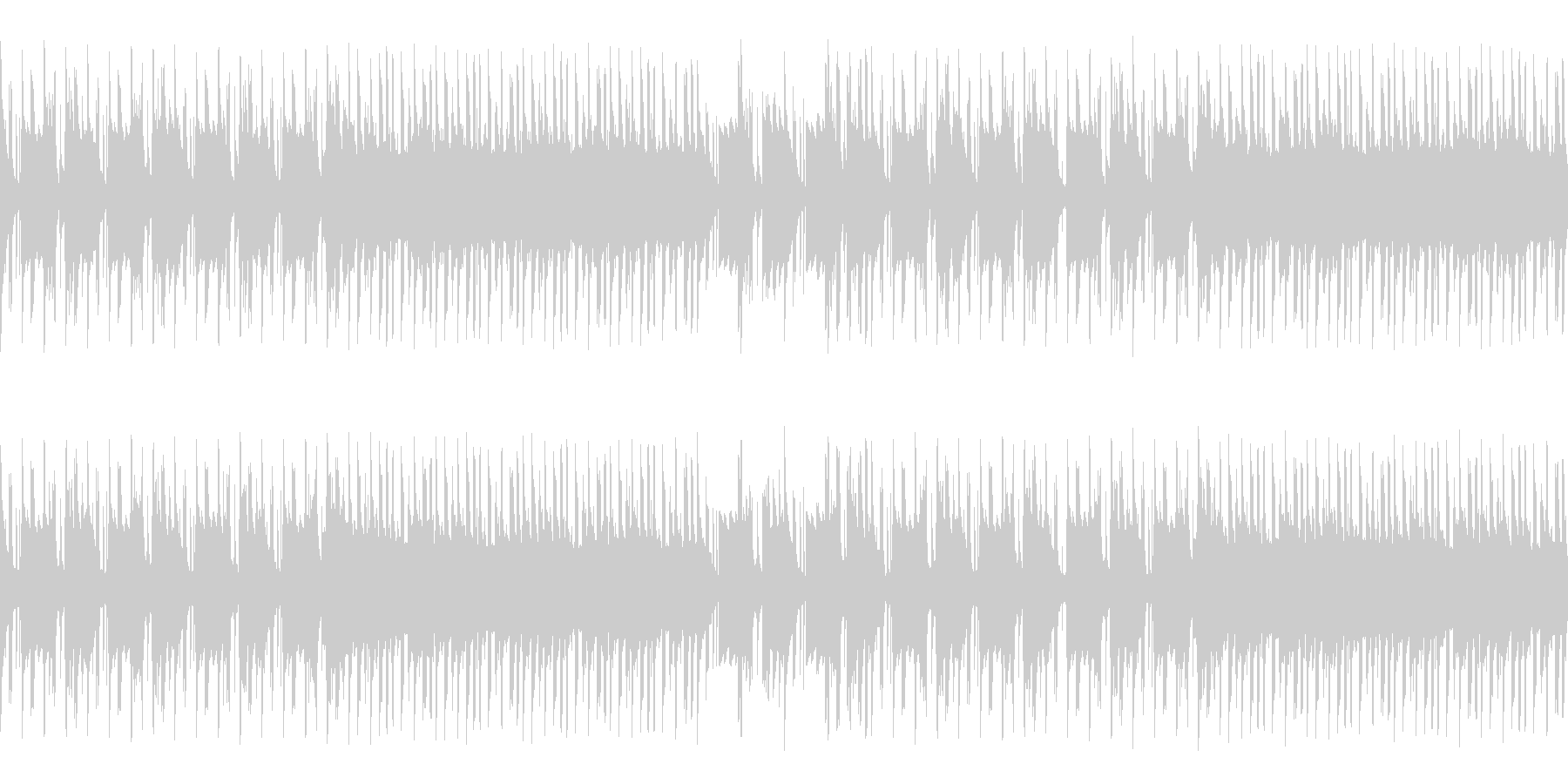 和風+ヒップホップなシンプルインスト楽曲の未再生の波形