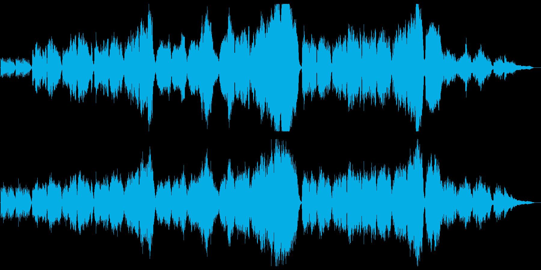 琴と尺八、弦楽合奏によるバラードの再生済みの波形