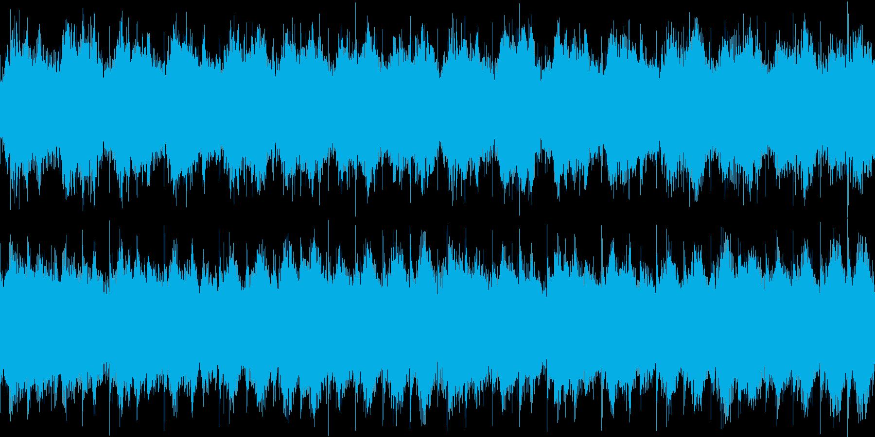 浮遊感のある宇宙っぽいエピックサウンドの再生済みの波形