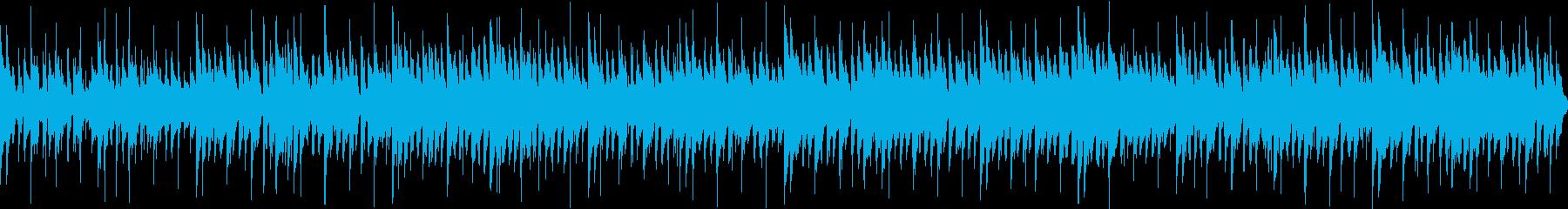 ループ可ミステリー・ハロウィン用怪しげ曲の再生済みの波形