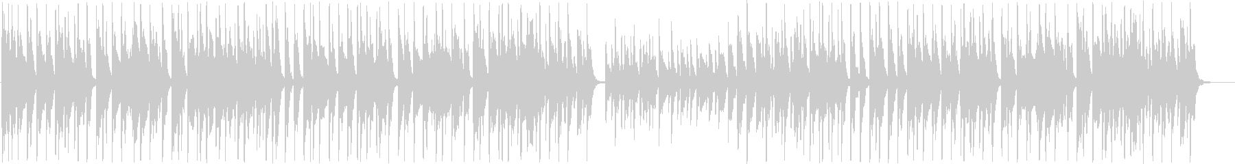 ほのぼの系シンセサイザーサウンド短めの未再生の波形