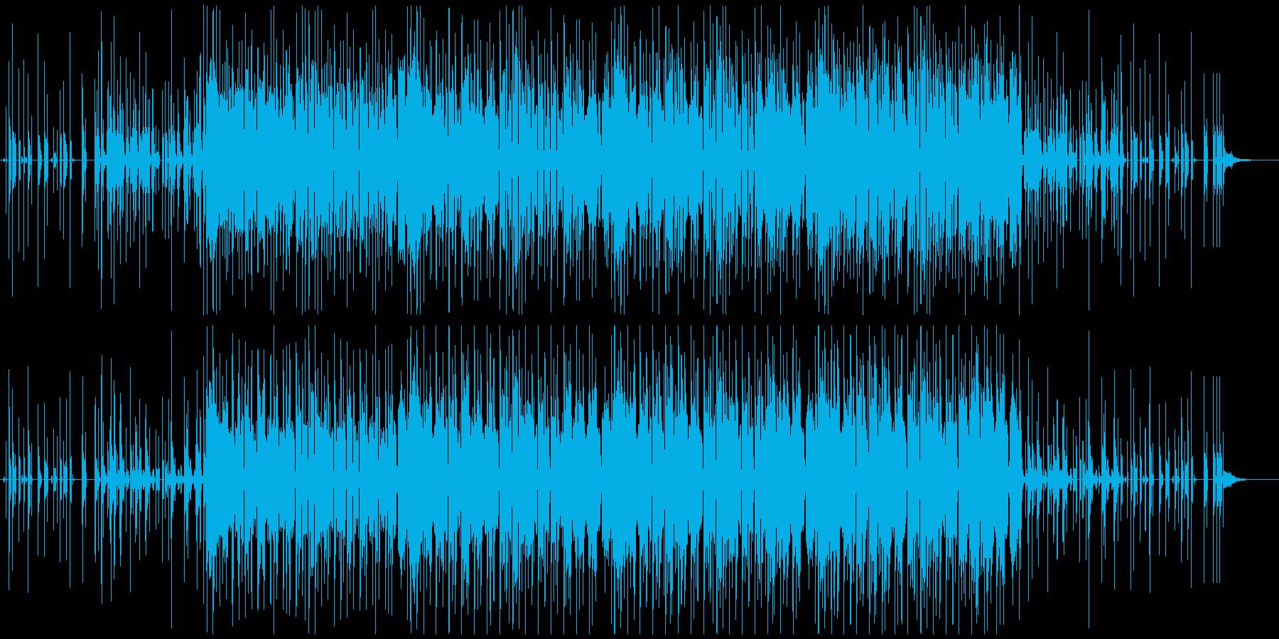 不思議な映像の演出ができるエレクトロニカの再生済みの波形