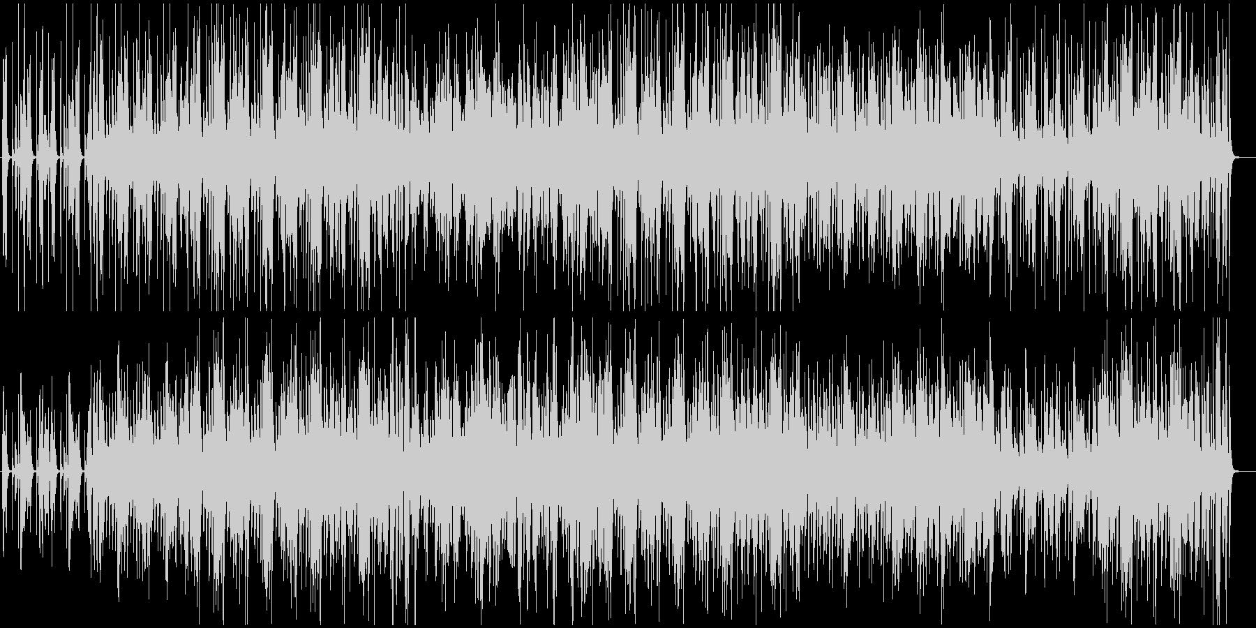 口笛とピアノのほのぼのとしたジャズの未再生の波形