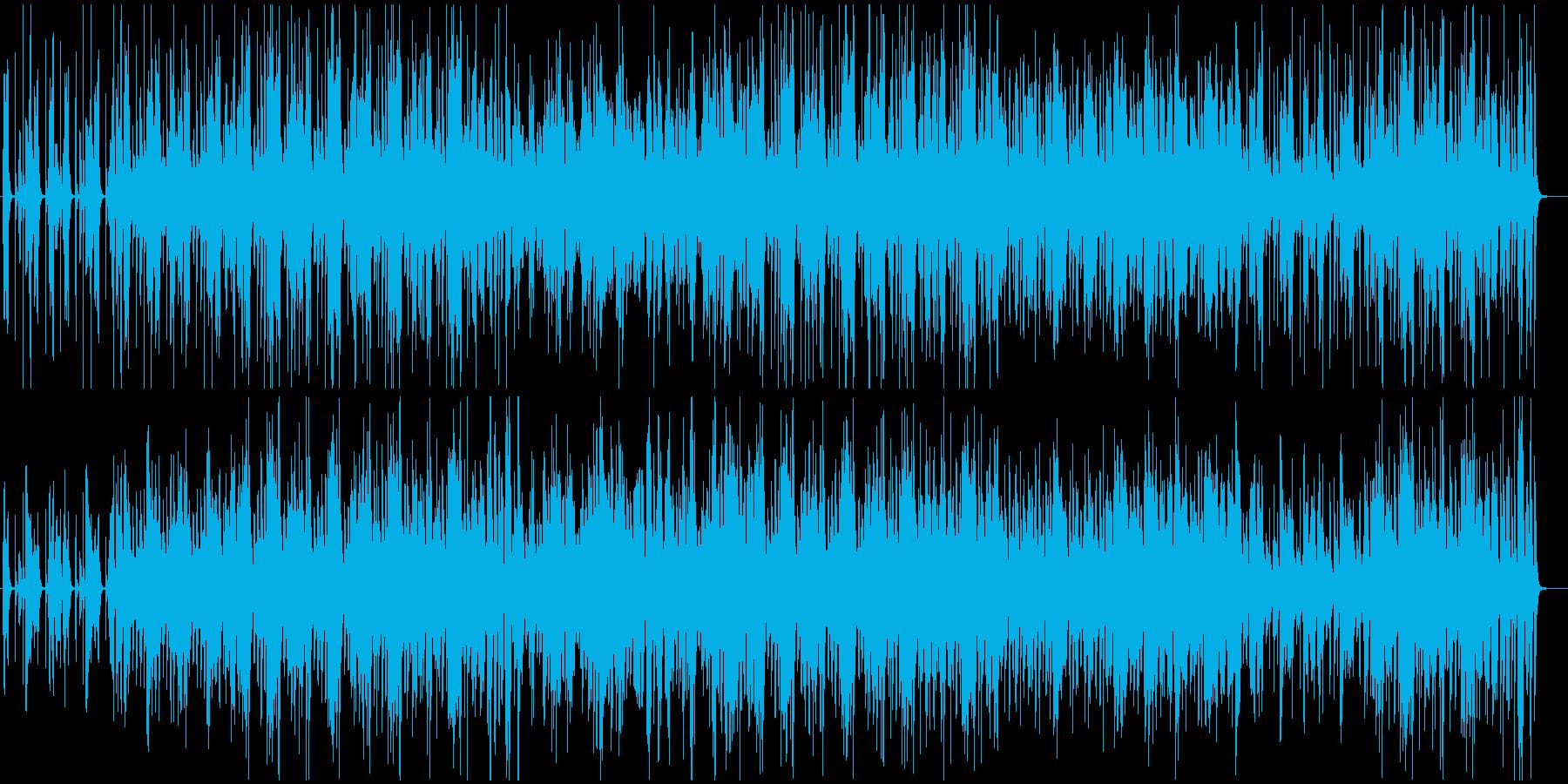 口笛とピアノのほのぼのとしたジャズの再生済みの波形