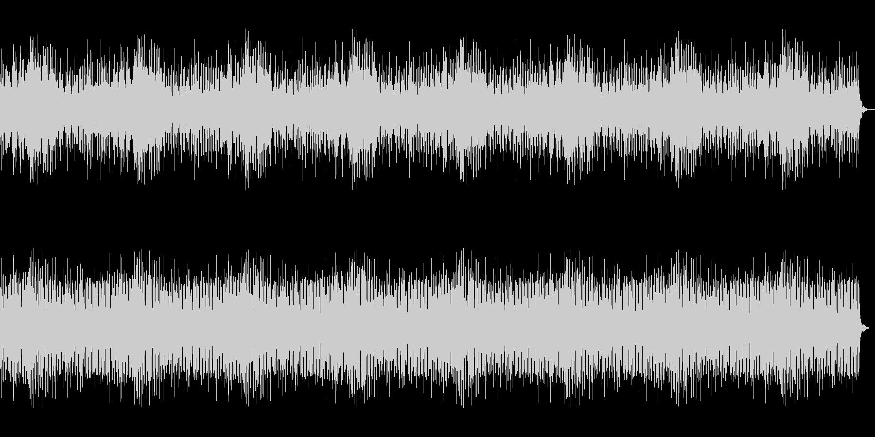 ピアノ主体のホラー向けBGM 恐怖の演出の未再生の波形