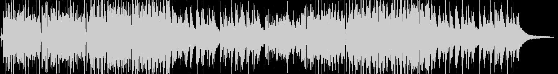 ジャズ風のピアノが映えるBGMの未再生の波形