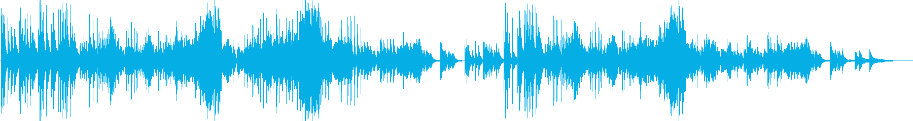 ハキハキと力強い響きの美しいピアノソロの再生済みの波形