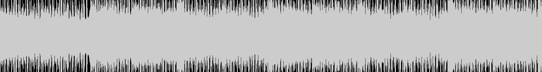 ノスタルジックなチルウェーヴ風BGMの未再生の波形