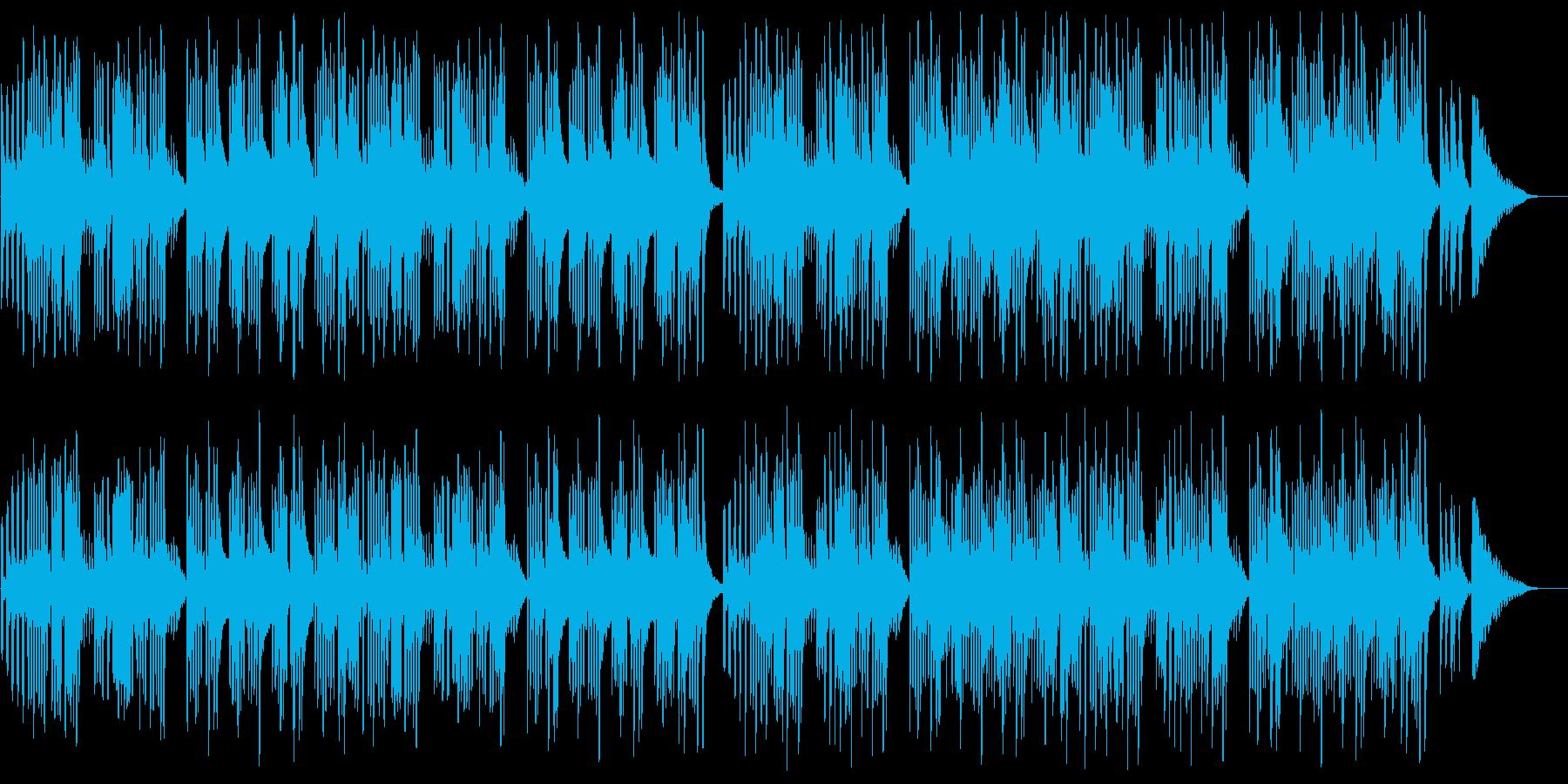 キュートでほのぼのした楽曲A:フル版の再生済みの波形