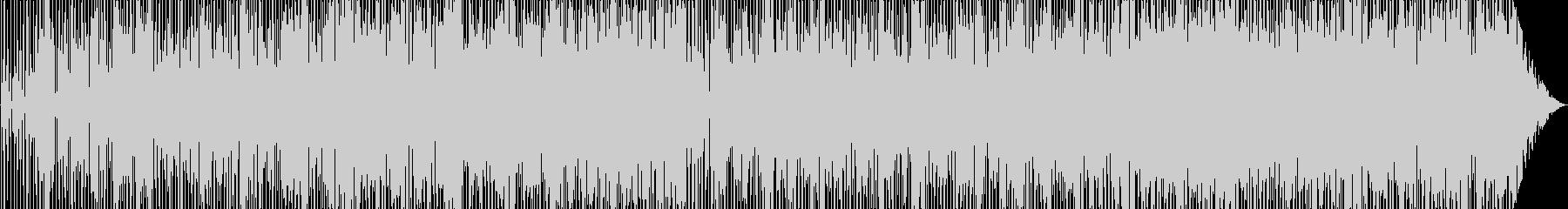 ヒップホップ風のスムースジャズの未再生の波形