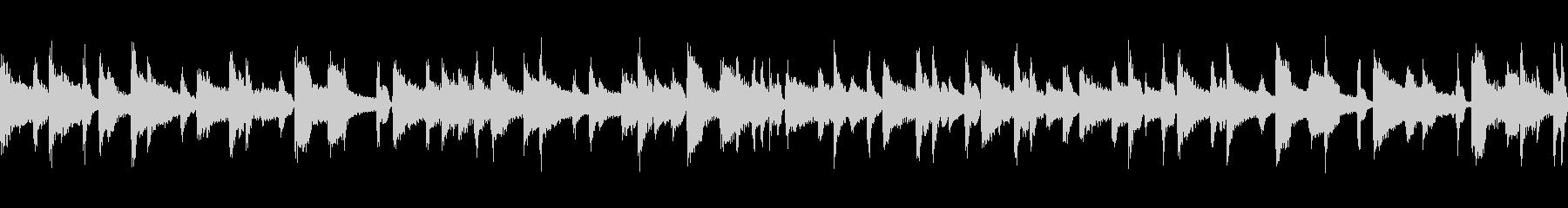 ジャズ ピアノバラード ループの未再生の波形