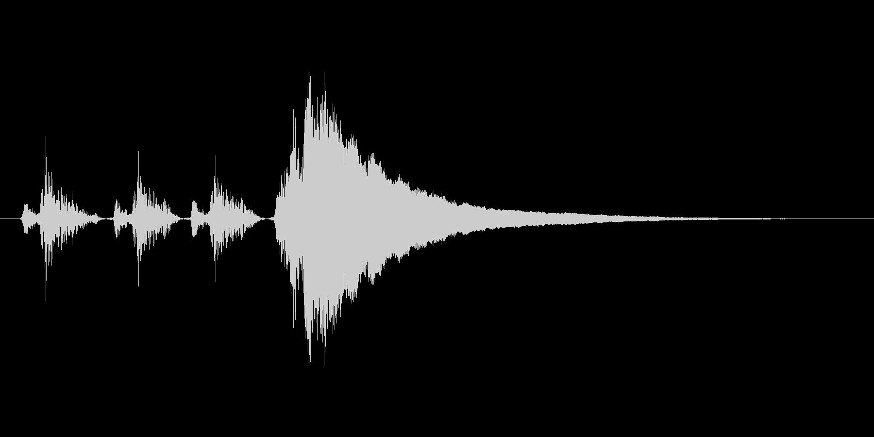 レジの音_チーン_04の未再生の波形