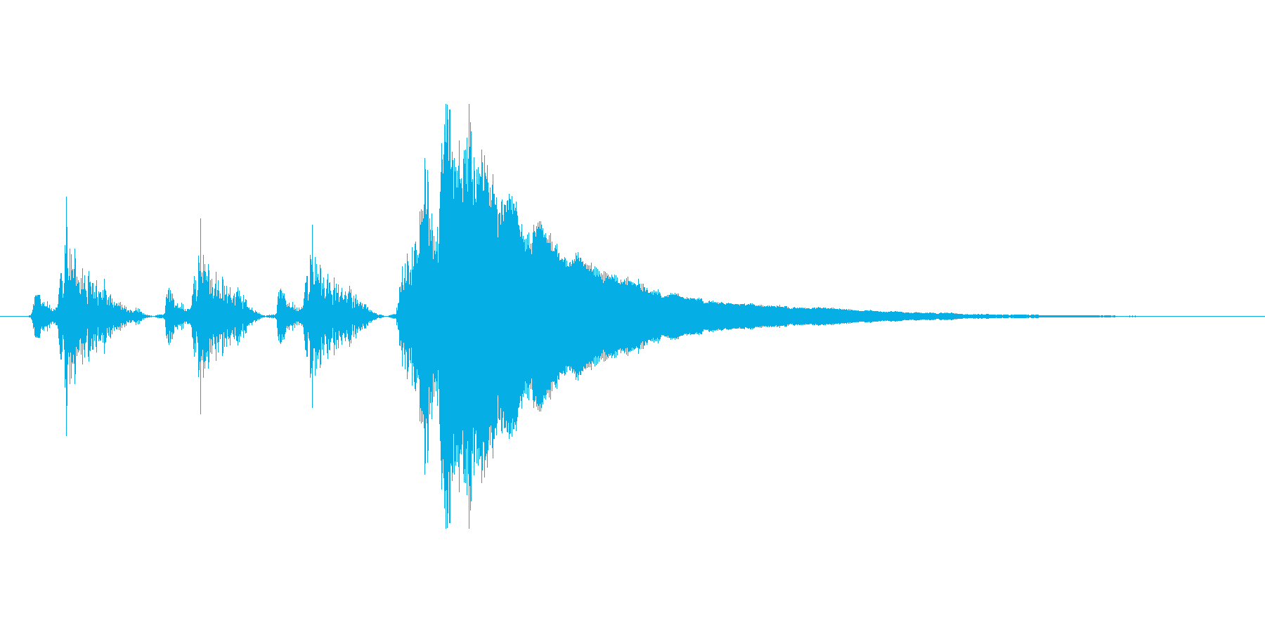レジの音_チーン_04の再生済みの波形