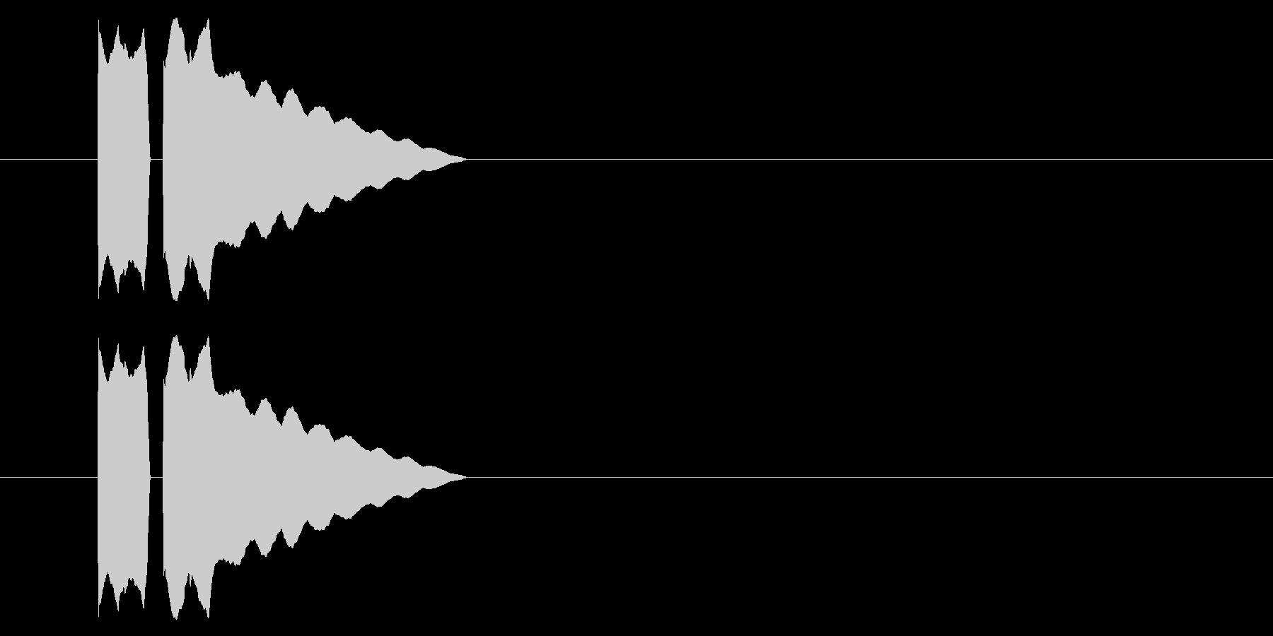 SNES レース02-12(アイテム)の未再生の波形