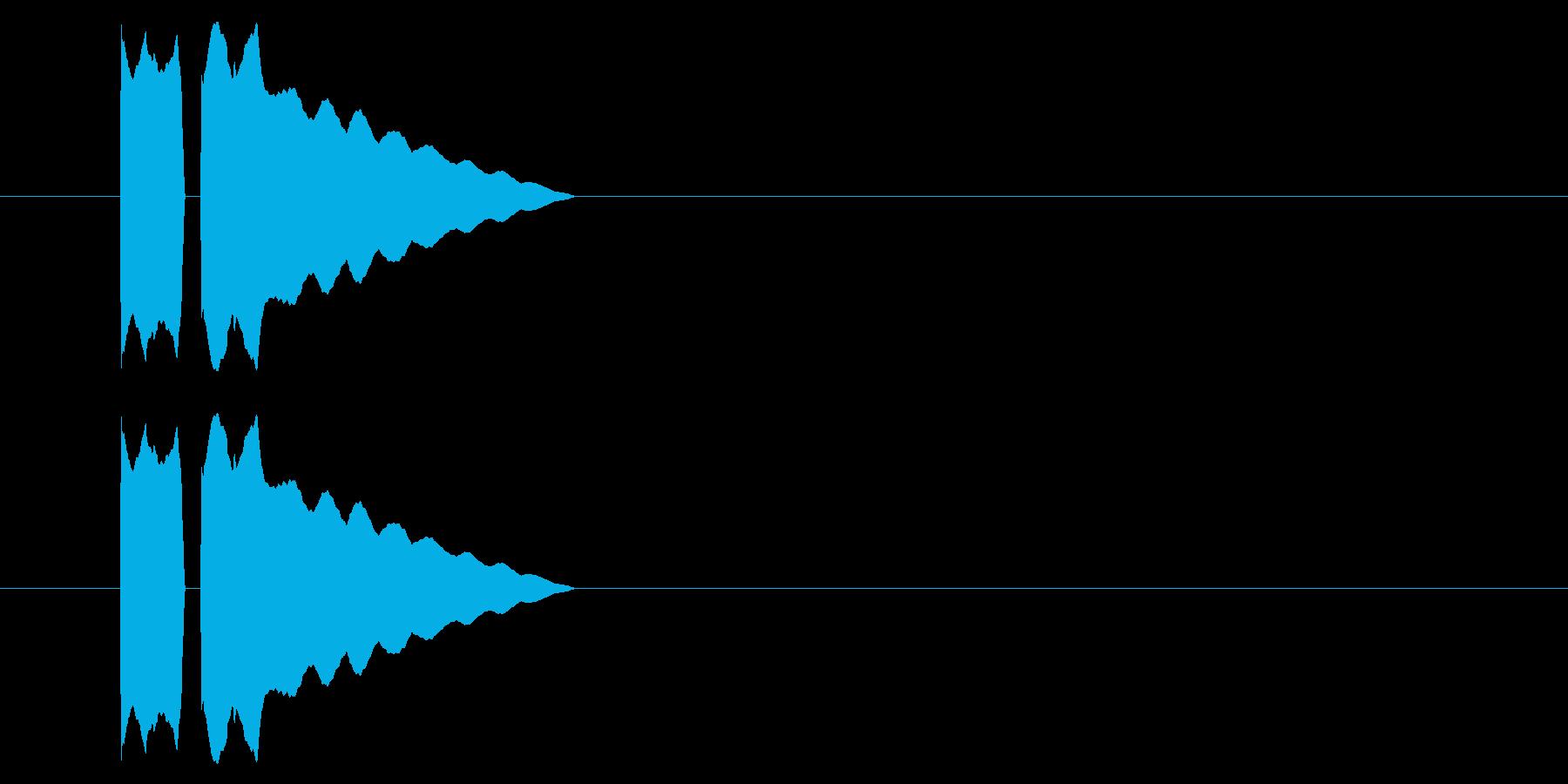 SNES レース02-12(アイテム)の再生済みの波形