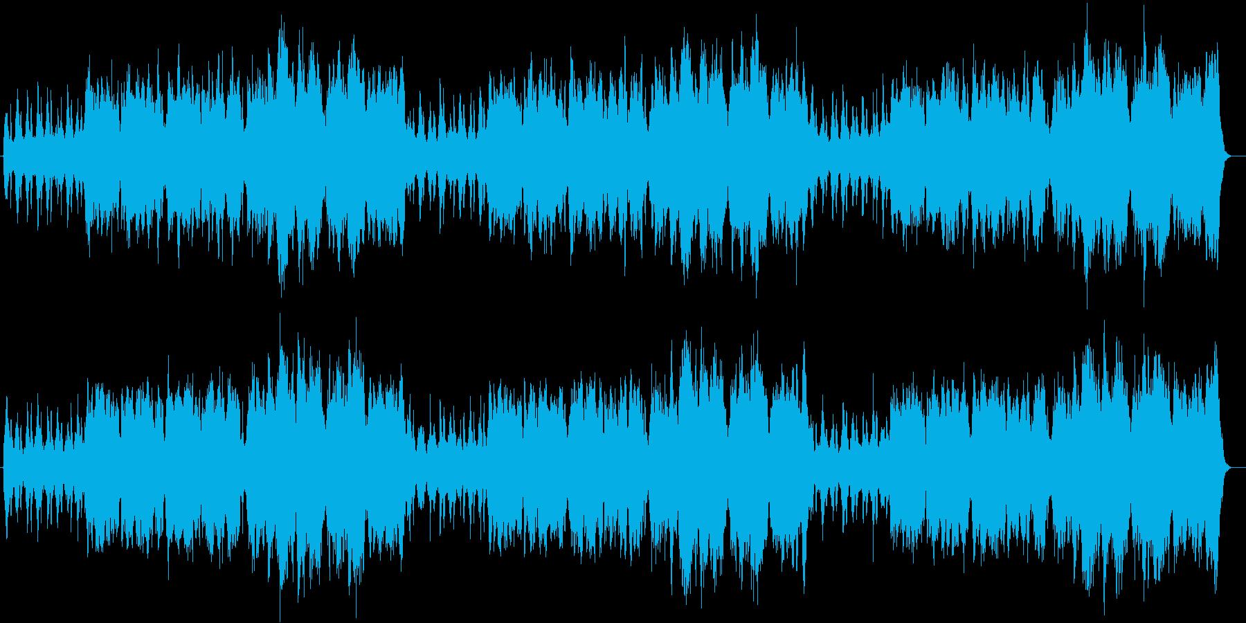 上品なゆったり感ピアノ・オルガンサウンドの再生済みの波形