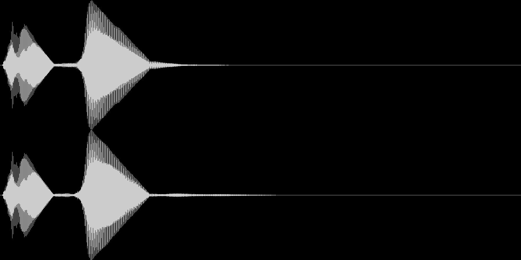 パフ。パフパフラッパA(低・単発)の未再生の波形
