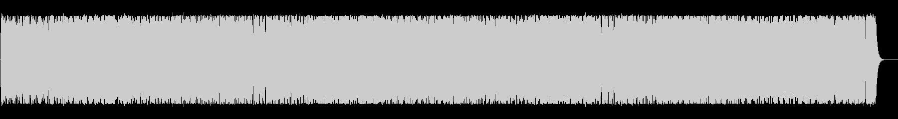 リズミカルで可愛いポップなBGMの未再生の波形