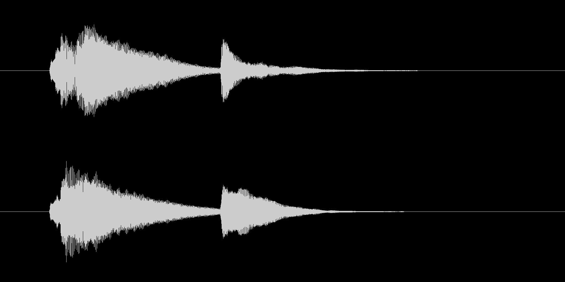 サウンドロゴ-1の未再生の波形