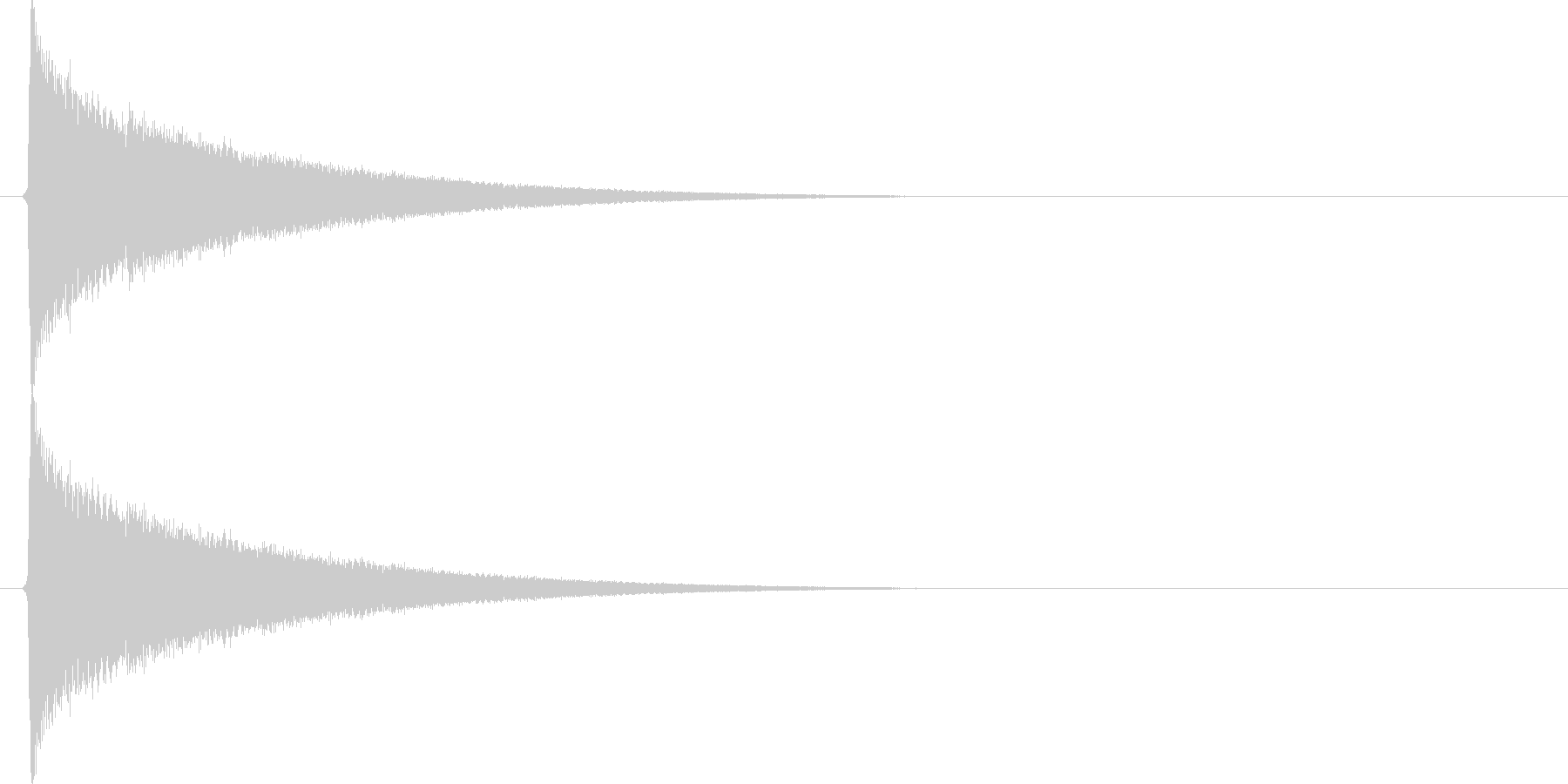 キラキラキラ…(星、瞬き、綺麗)の未再生の波形